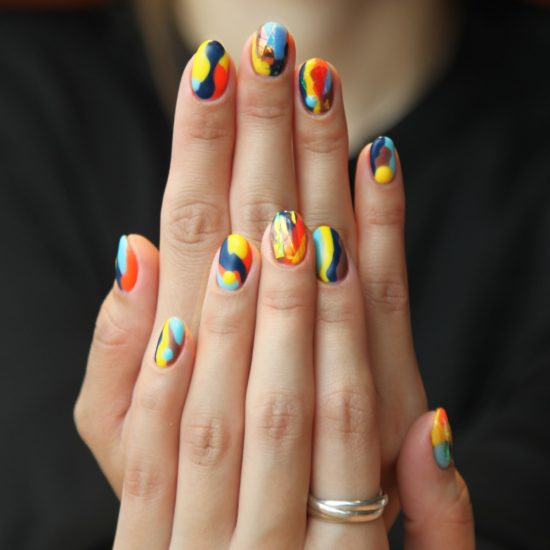 patterned nails_manicure tips